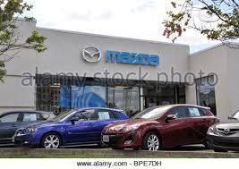 dealership usa mazda car dealership usa stock photo royalty free image