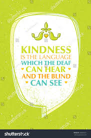 Blind Charity Kindness Language Which Deaf Can Hear Stock Vector 368692331