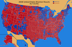 Red State Map by The Last Time A State Voted For A Democrat For President 946x550