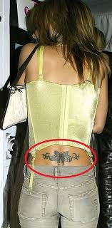 Cheryl Cole Back Cheryl Cole S 9 Tattoos Their Meanings Guru
