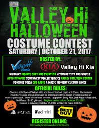 8th annual valley hi honda u0026 kia halloween costume contest