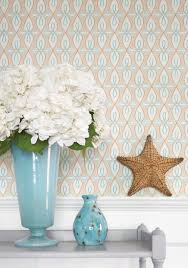 interior fetching blue living room decoration using blue pattern