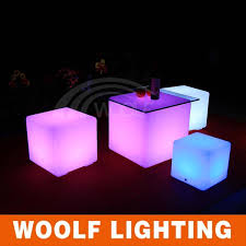 light up cubes taking light up cubes for your party led furniture led illuminated