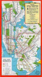 Nyc Subway Map App by 11 Best New York City Subway Maps Images On Pinterest New York