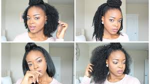 weave two duky braid hairstyle half up half down hairstyles 4 ways crochet glue method