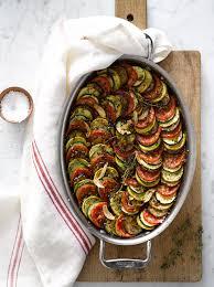 cuisiner en anglais ratatouille gratin cuisine food accompagnements