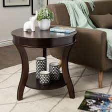 rosewood tall end table coffee brown end tables furniture for less overstock