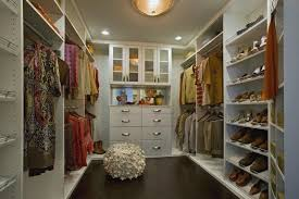 decorations modern elegant walk in closet in the attic ideas
