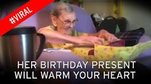gifts for elderly grandmother the beautiful moment a simple birthday gift lights up an
