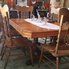 antique dining room tables for sale find more reduced antique dining room table 6 chairs buffet very