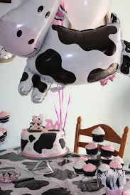 cow print balloons absolutely this cow party theme i m from the country and