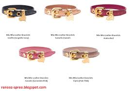 leather bracelet price images Miu miu leather bracelet bracelets jewelry png