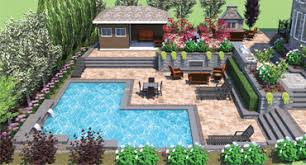AquaSpa Pools  Landscape Design Home - Landscape design home