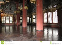Palace Interior by Interior Of A Korean Palace Stock Photography Image 679412