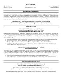 business management resume exles resume sles business management resume template administration