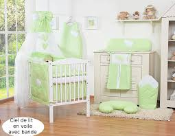 chambre bébé vert et gris lit bébé 120 60 ou 140 70 vert à coeurs