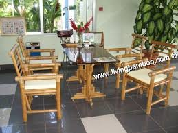 bamboo dining room table bamboo dining room