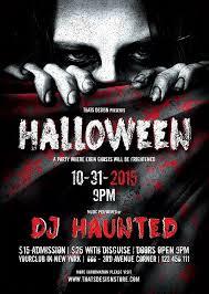 Halloween Party Flyer Hitecauto Us