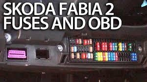 skoda fabia fuse box radio skoda wiring diagrams instruction