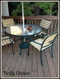 Fixing Patio Chairs Top This Top That How To Refurbish Your Chaise Loungers