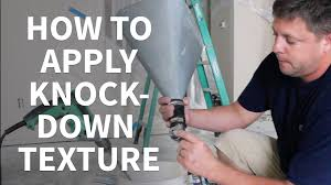 diy apply knockdown texture ceilings youtube
