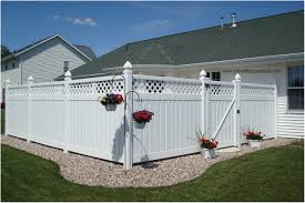 backyards beautiful white privacy fence ideas and screen fencing
