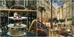 winter garden afternoon tea home decorating interior design