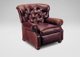 leather recliner chairs cromwell leather recliner recliners