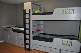 Three Bed Bunk Bed Collect This Idea Wooden Twin Over Twin - Three bunk bed
