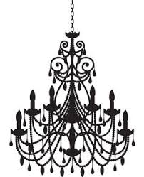 Black Chandelier Clip Art Drawn Chandelier Art Pencil And In Color Drawn Chandelier Art