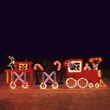 christmas train outdoor decoration home decorations