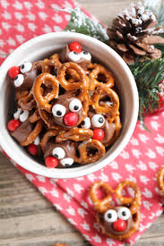 edible treats rolo pretzel reindeer these tasty treats are for the