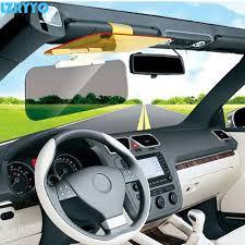 clip on visor light car plastic sun visor clip day and night use driving anti light