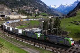 gotthard tunnel switzerland intermodal system cargobeamer