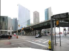 lexus toronto downtown york bay yonge ramp demolition will equal traffic chaos for
