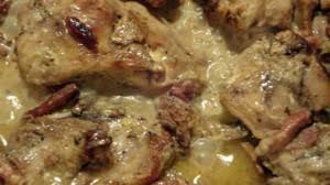 cuisiner lapin au four lapin à la moutarde