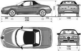 nissan nv200 template 2003 alfa romeo spider cabriolet blueprints free outlines