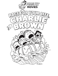 great pumpkin charlie brown coloring pages halloween cartoon