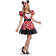 spirit halloween costumes com red minnie glam costume buycostumes com