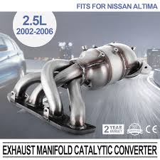 2008 nissan altima for sale ebay fit nissan altima exhaust manifold catalytic converter 2002 2006