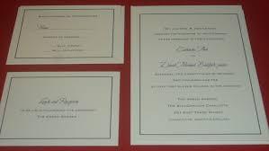 carlton invitations catherine dave wedding invitation