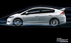 Honda Insight Hybrid Interior Mugen Accessories Intensify The 2010 Honda Insight Hybrid