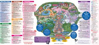 Disney Hollywood Studios Map Walt Disney World The Itinerary And Worksheets Palmettos And