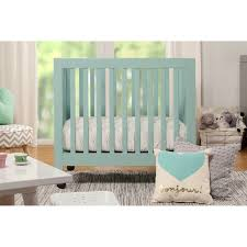 Babyletto Hudson 3 In 1 Convertible Crib by Bedroom Whtie Babyletto Hudson Crib With Rug And Ceiling Fan And