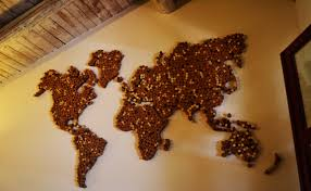Cork World Map by Nord Est Alessandra