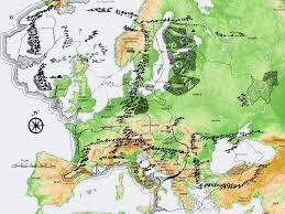 Map Of Mordor Erimaassa 2016