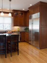 unique kitchen cabinets and flooring combinations in interior home