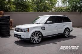 silver range rover black rims 2012 land rover range rover sport w vossen wheels wheel