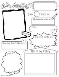 all about me poster free kindergarten pinterest all about
