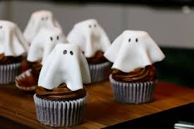 chocolat cuisine recette cupcakes fantôme au chocolat faciles et